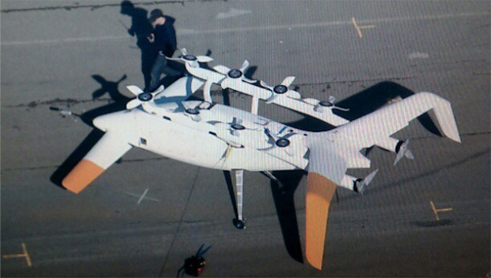 Googlegrundare har investerat i två företag som gör flygande bilar