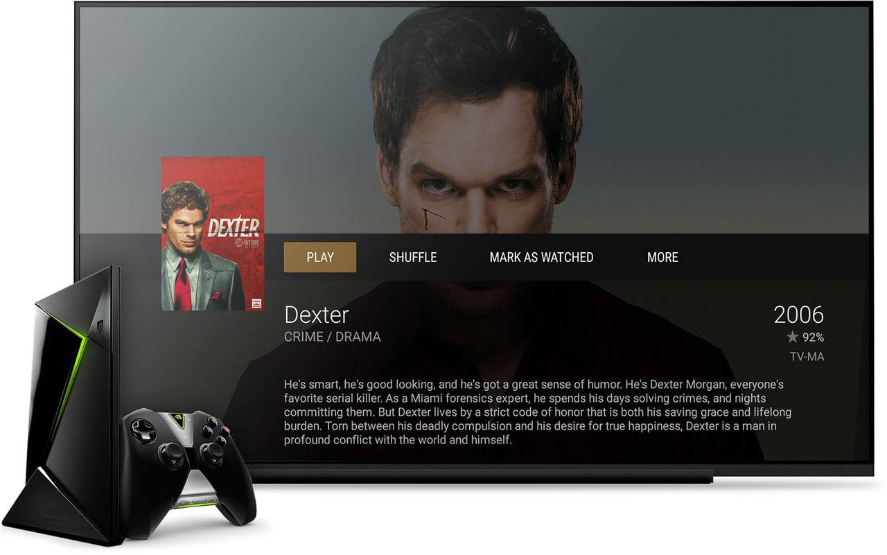 Nvidia Shield TV kan nu jobba som Plex-server