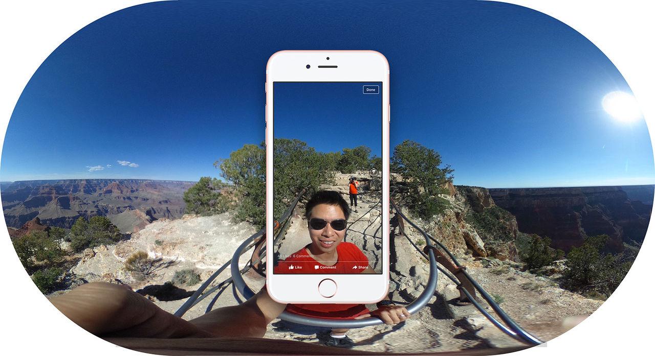 Nu kommer 360-bilder till Facebook
