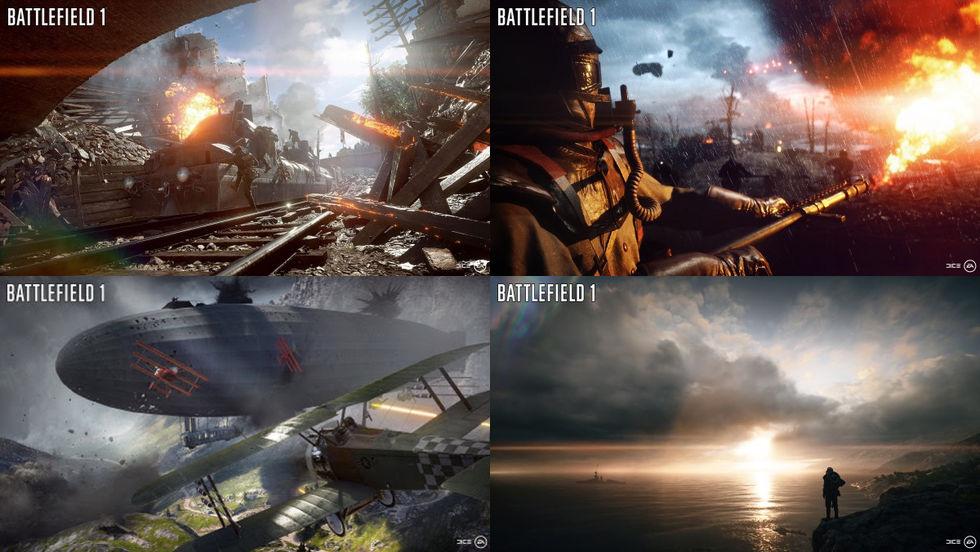 DICE visar upp fyra Battlefield 1-kartor
