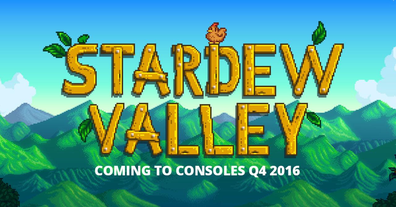 Stardew Valley kommer till konsol