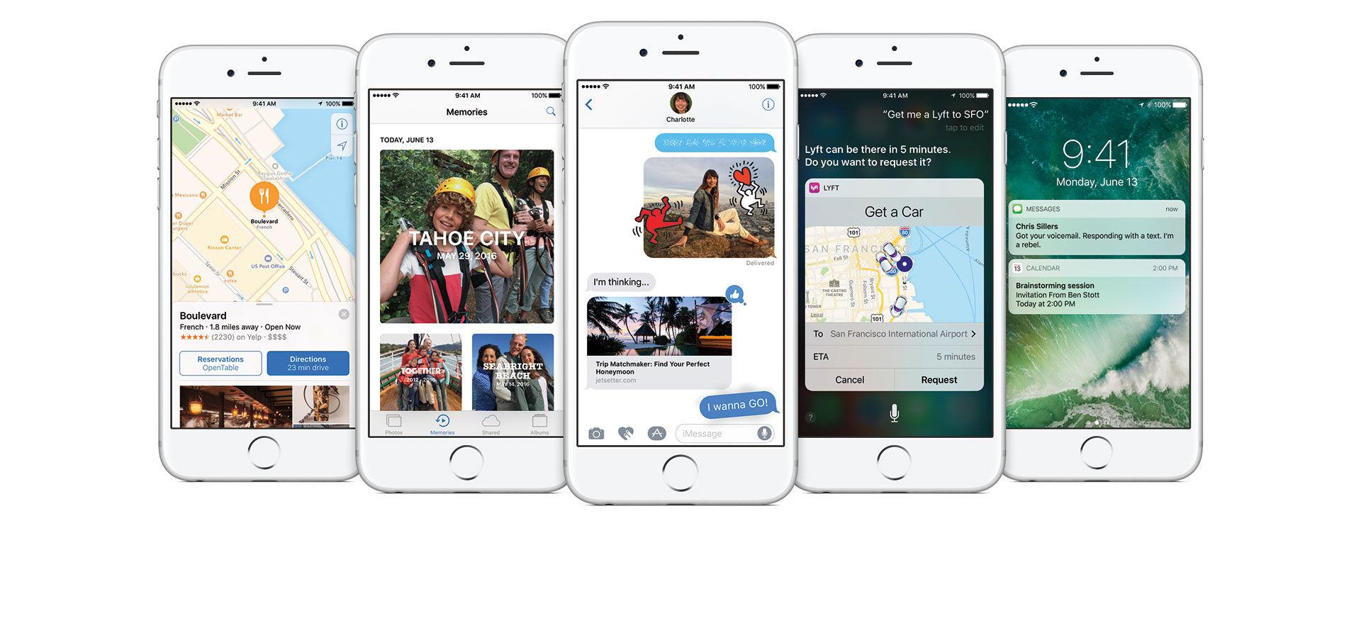 iOS 10 blir en riktigt stor uppdatering