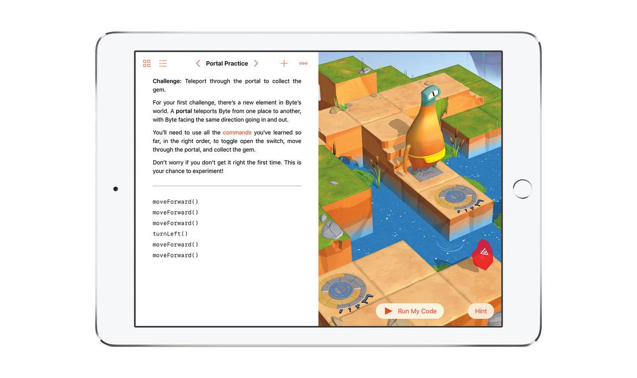 Swift Playgrounds ska lära kidsen att koda