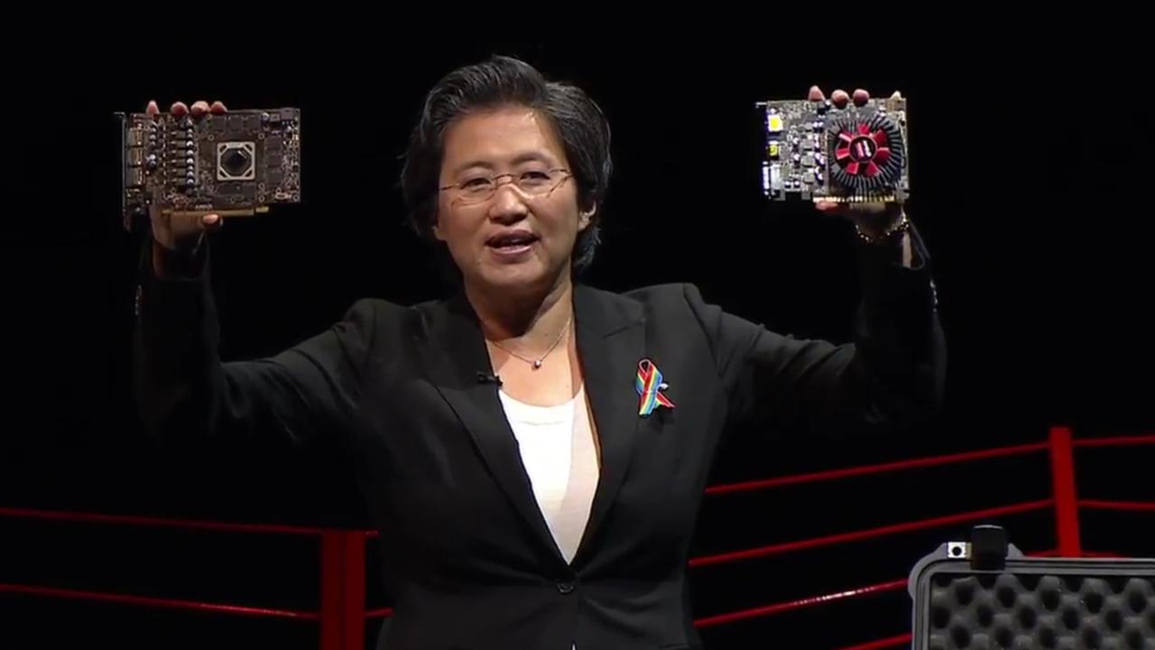 AMD visar upp nya Radeon RX-grafikkort