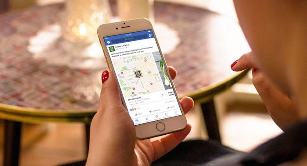 Facebook börjar kolla vilka butiker man besöker