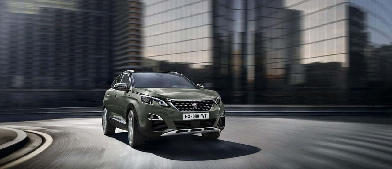 Peugeot presenterar hetare version av 3008