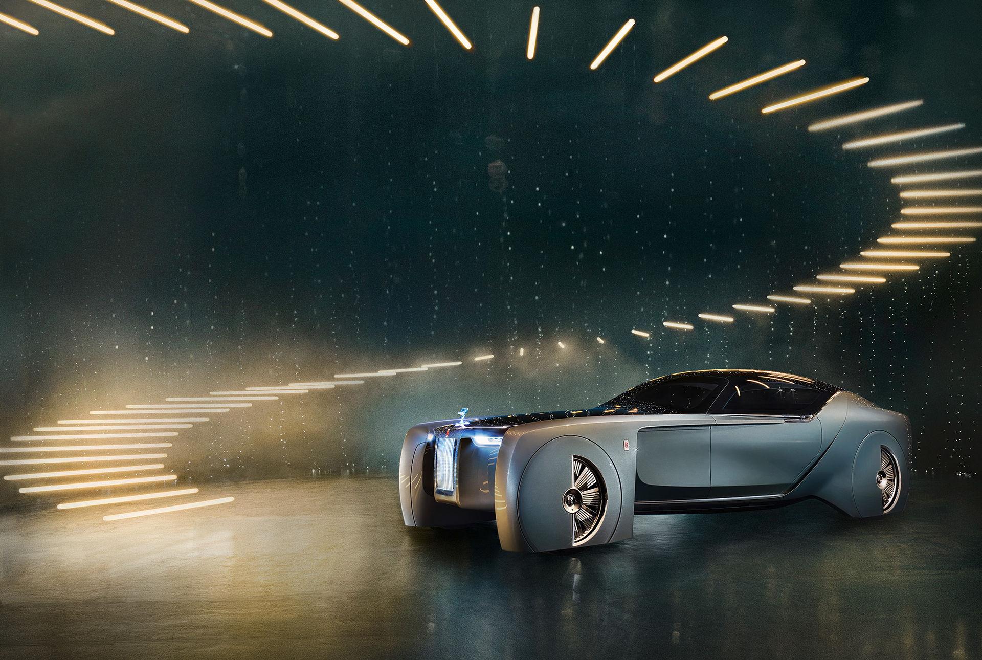 Rolls-Royce visar galen konceptbil
