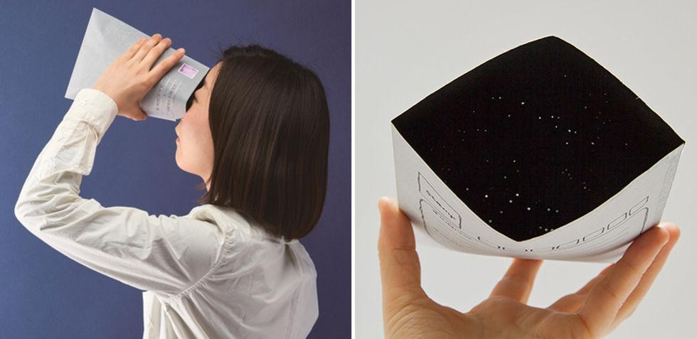 Kuvert som innehåller stjärnbilder
