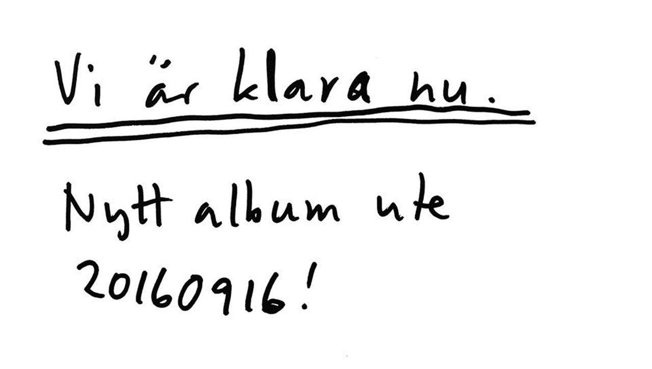Bob Hund släpper nytt album