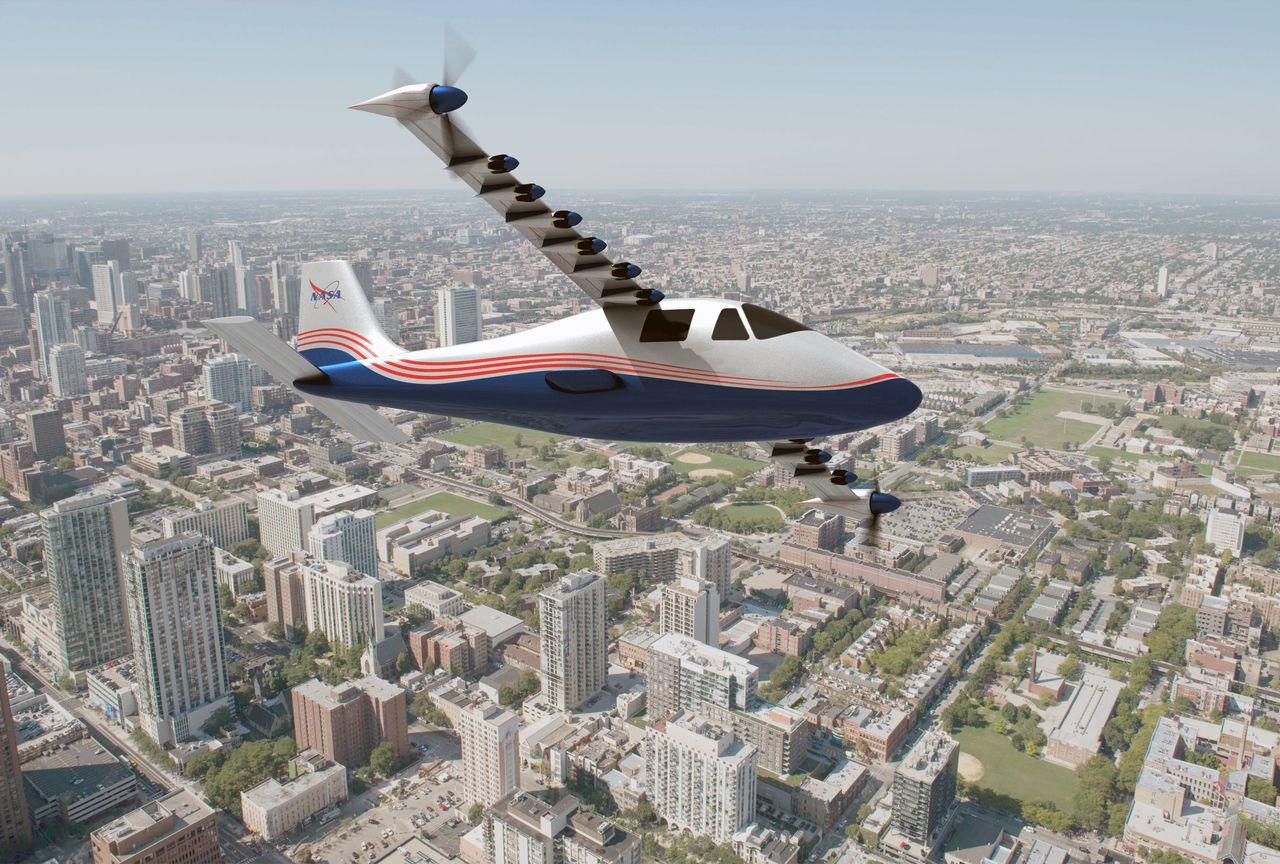 NASA X-57 kommer att bli ett eldrivet flygplan