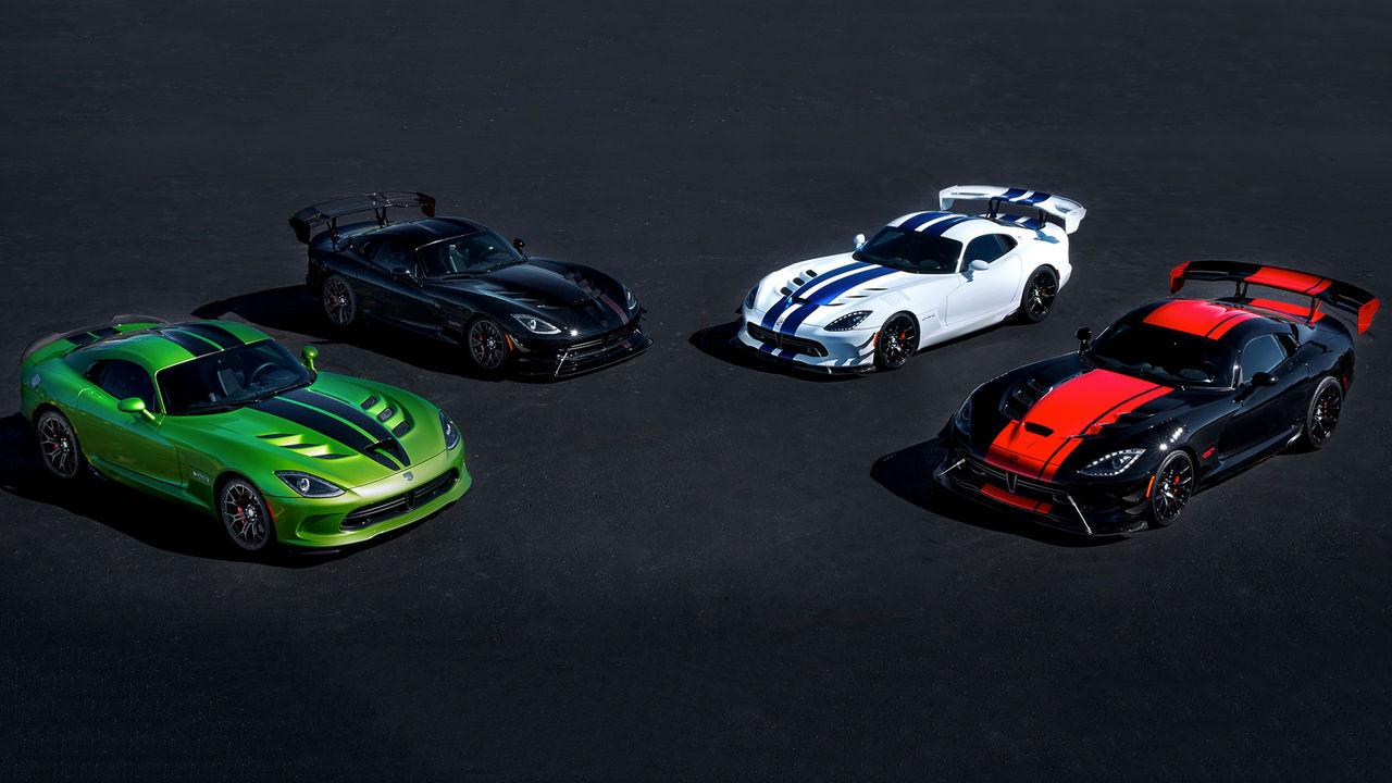 Dodge säger hej då till Viper med fem specialversioner