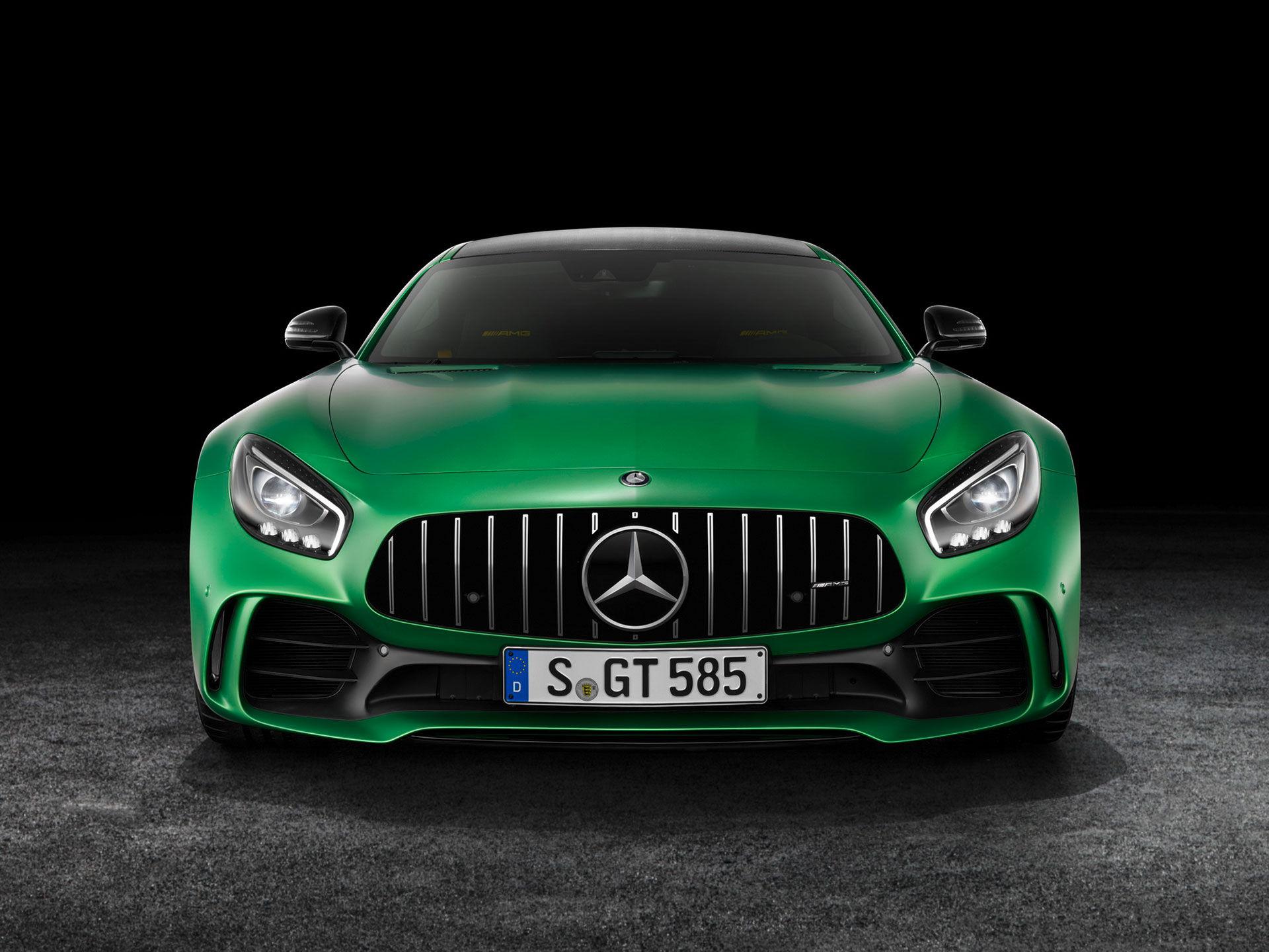 Det här är Mercedes AMG GT R