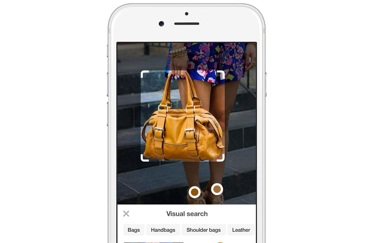 Shoppa på Pinterest genom att fotografera det du vill ha