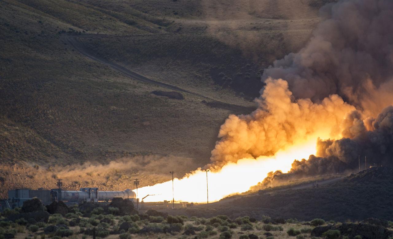 NASA:s nya startraket klar för att ta oss till yttre rymden