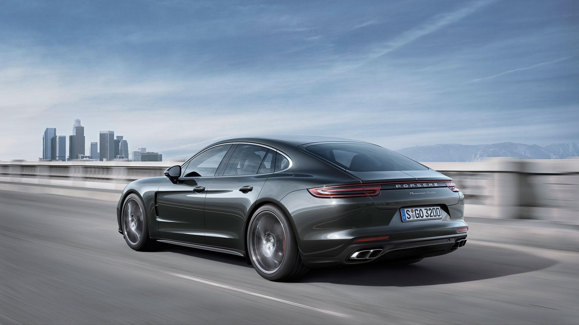 Det här är nya Porsche Panamera!