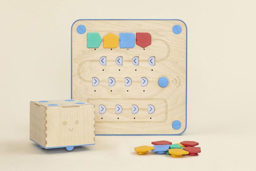 Cubetto är en leksak som ska lära småbarn att programmera
