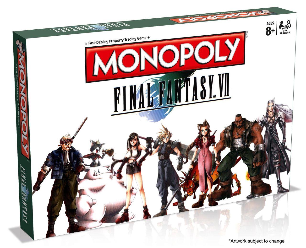 Final Fantasy VII som Monopol