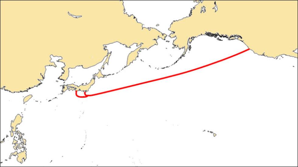 Nu är Googles internetlina mellan USA och Japan igång