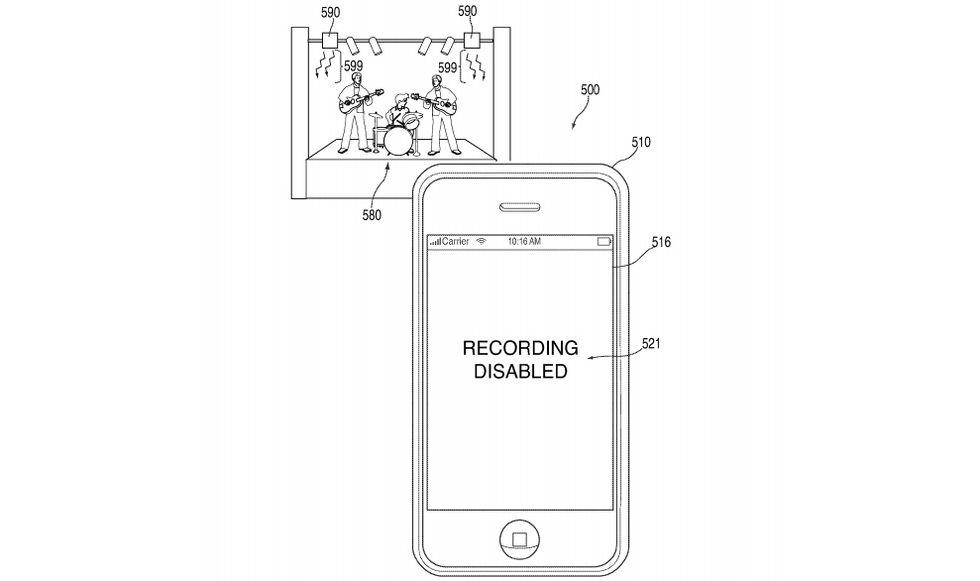 Apple tar patent på kamerablockeringsteknik