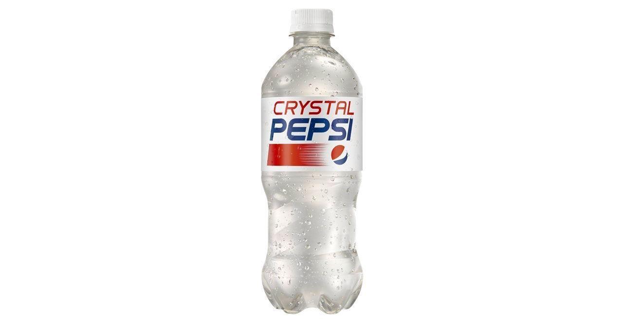 Crystal Pepsi kommer tillbaka!