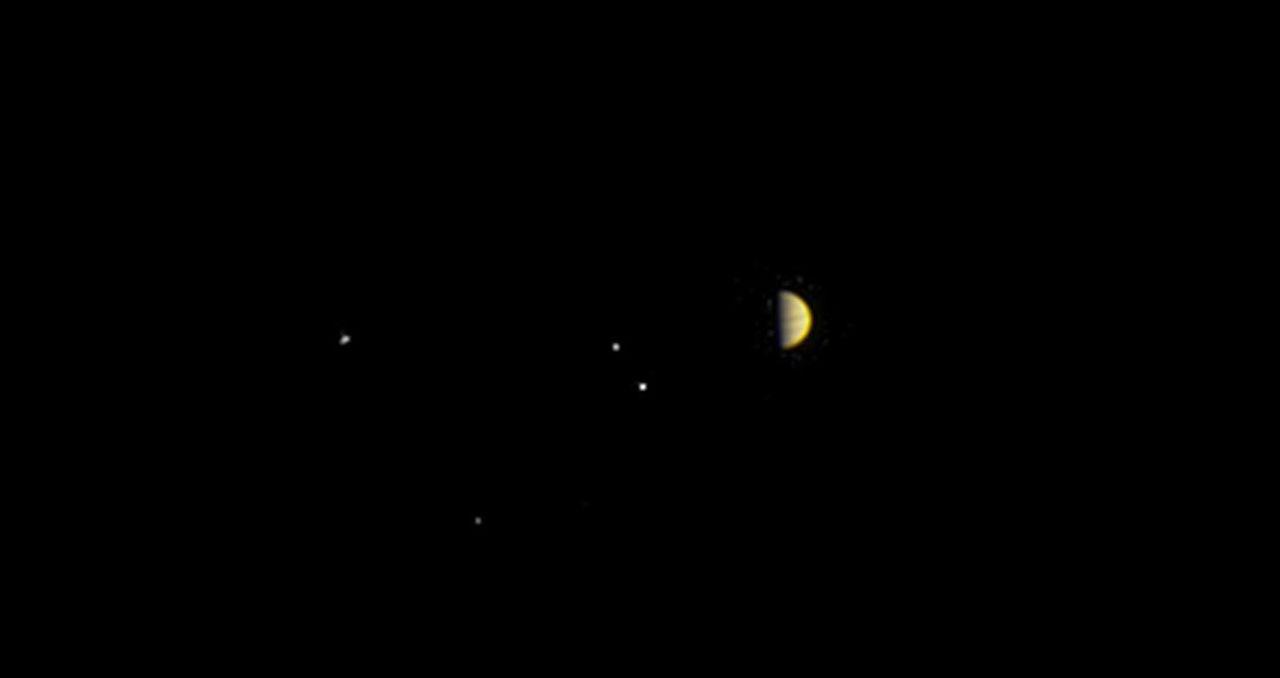 Nu börjar Juno närma sig Jupiter