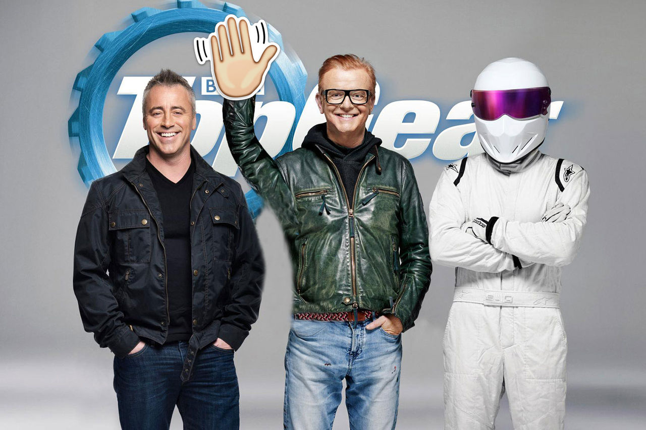 Chris Evans hoppar av Top Gear