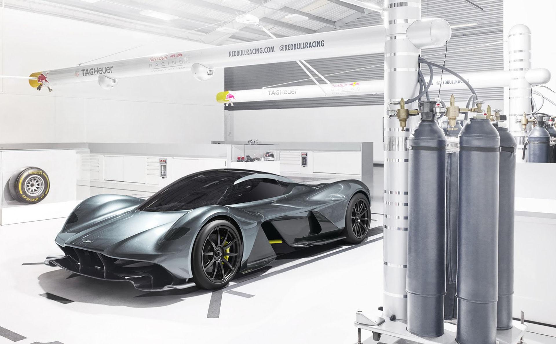 Det här är Aston Martin och Red Bulls hyperbil
