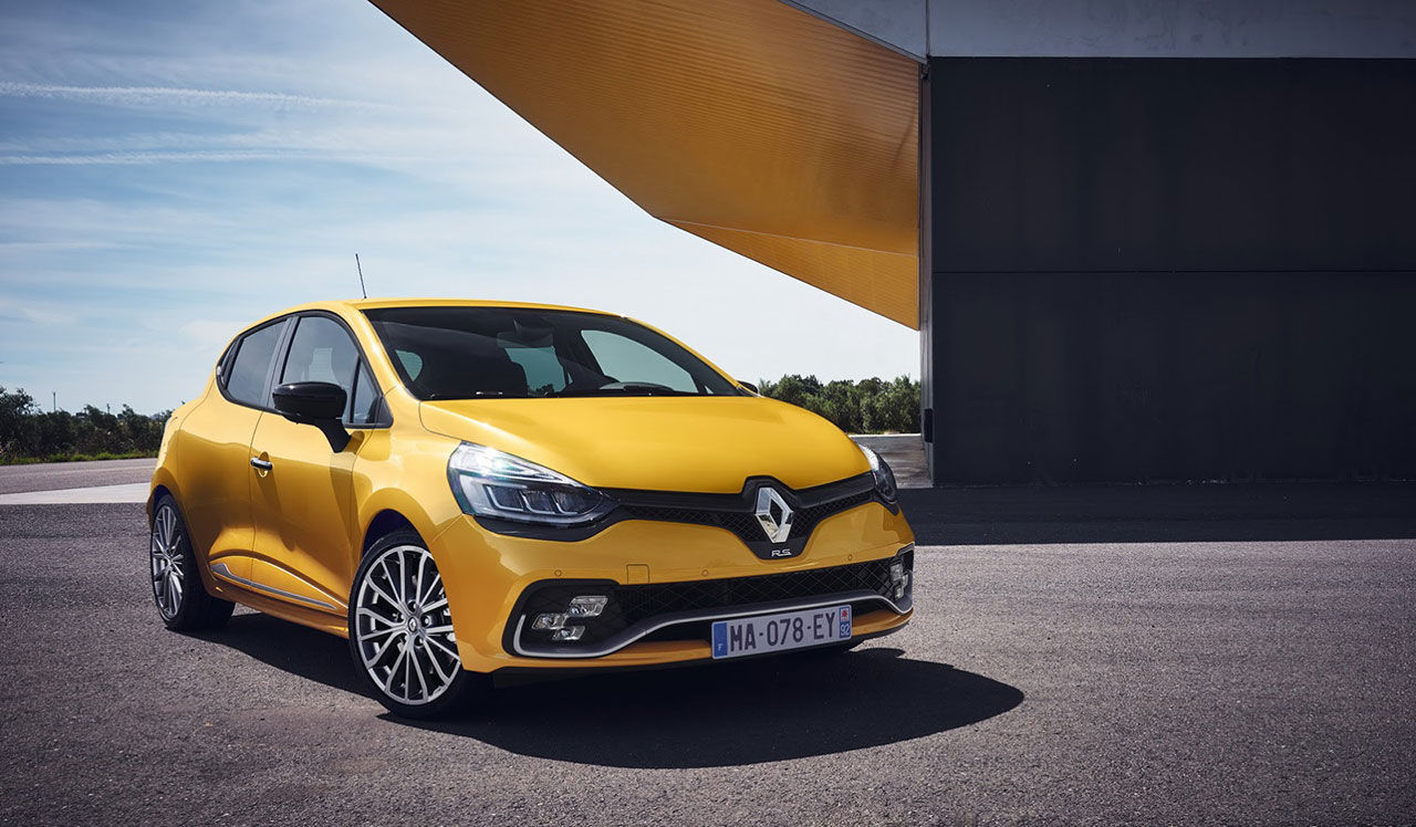 Renault presenterar lyft Clio RS