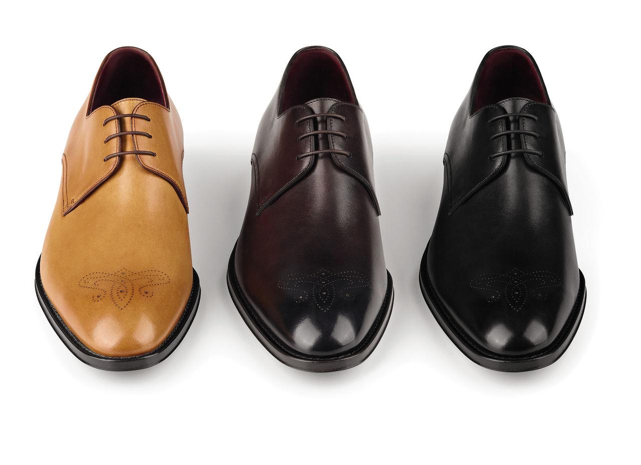 Dressade skor och matchande väskor från Boss