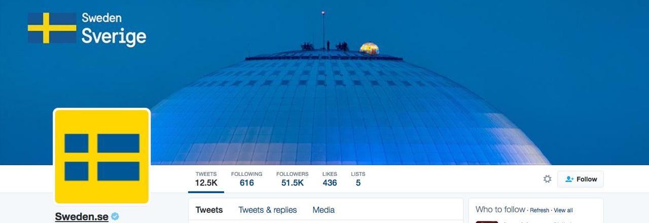 Episk beef mellan Sverige och Danmark på Twitter