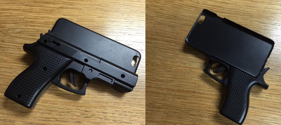Man hade med sig iPhone-fodral som såg ut som en pistol till en flygplats
