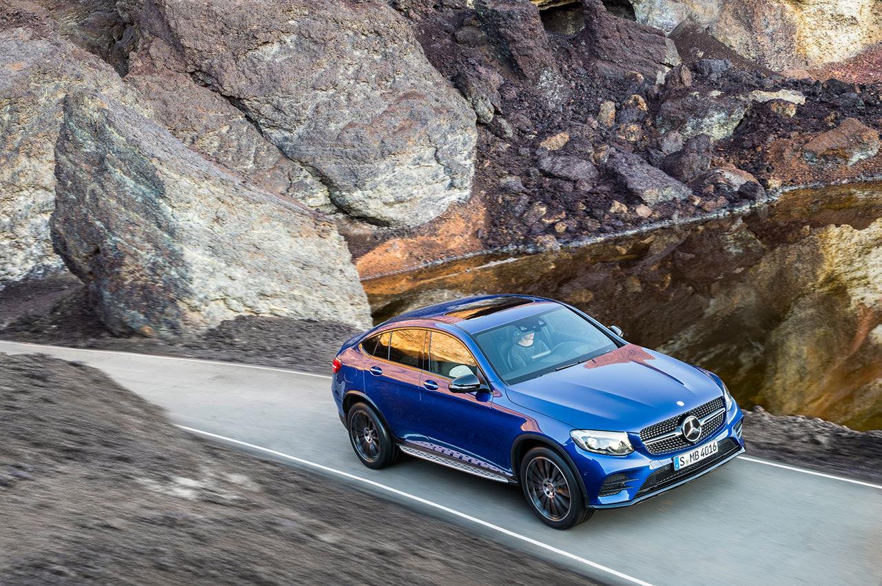 Svenskt pris klart för Mercedes GLC Coupé