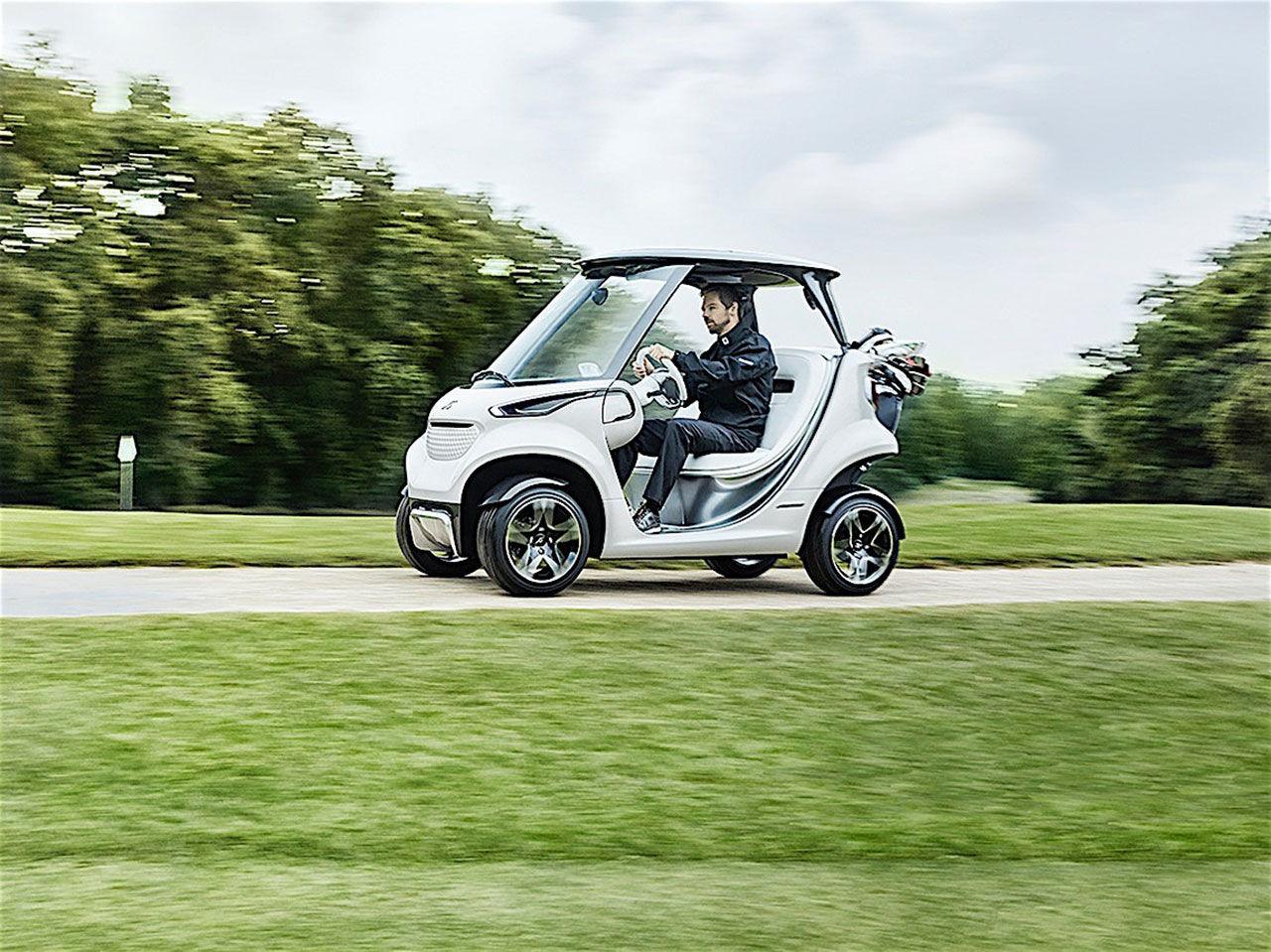 Mercedes har byggt världens snyggaste golfbil