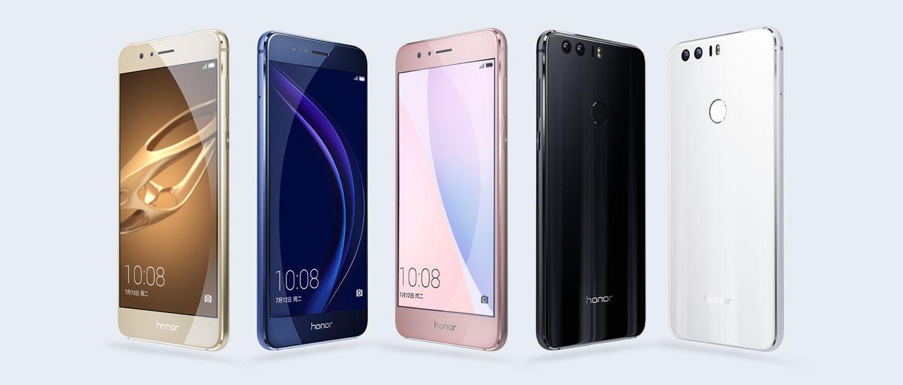 Huawei visar upp Honor 8