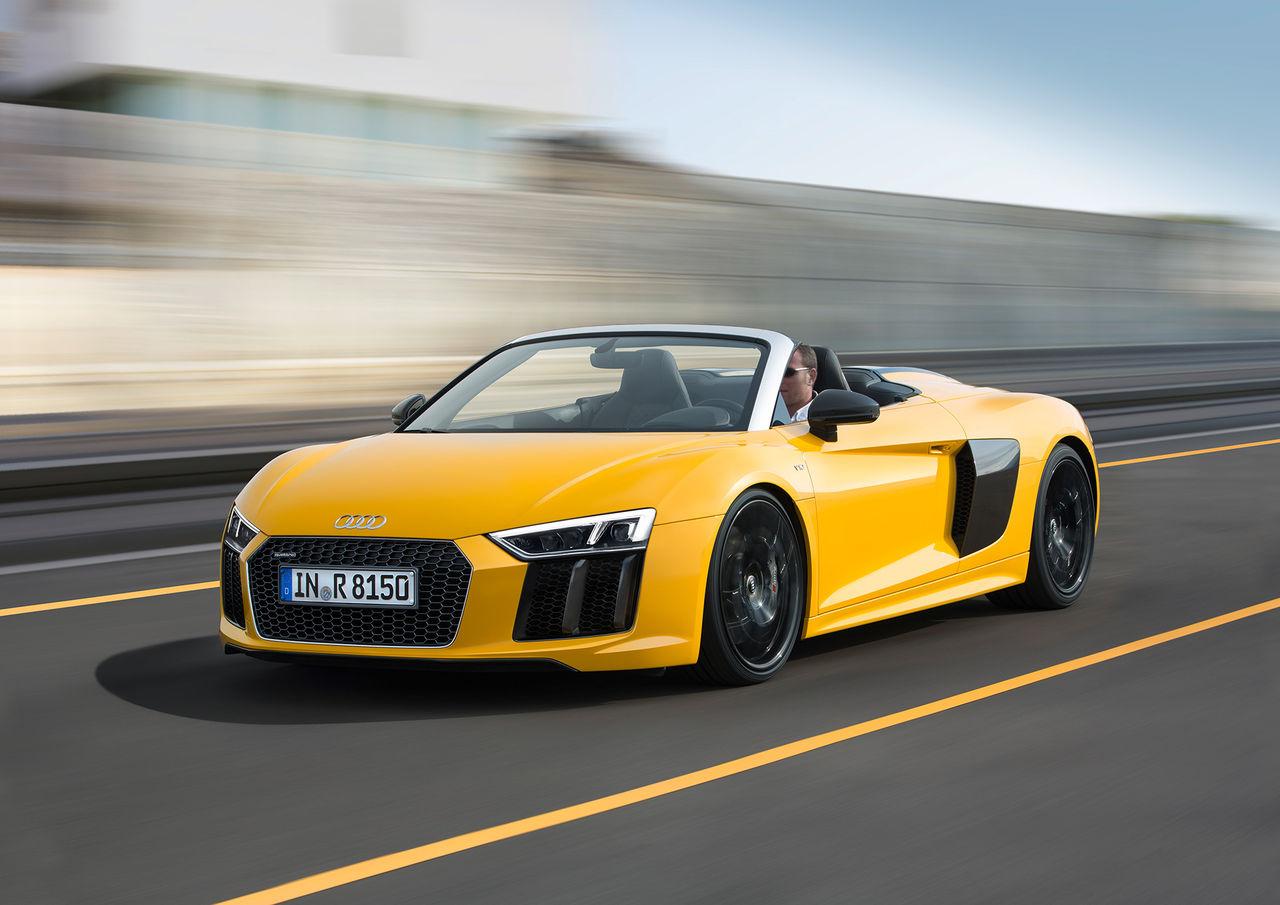 I dag startar försäljningen av Audi R8 Spyder