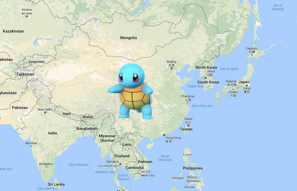 I Kina är man orolig för att Pokemon Go kan lokalisera deras militärbaser