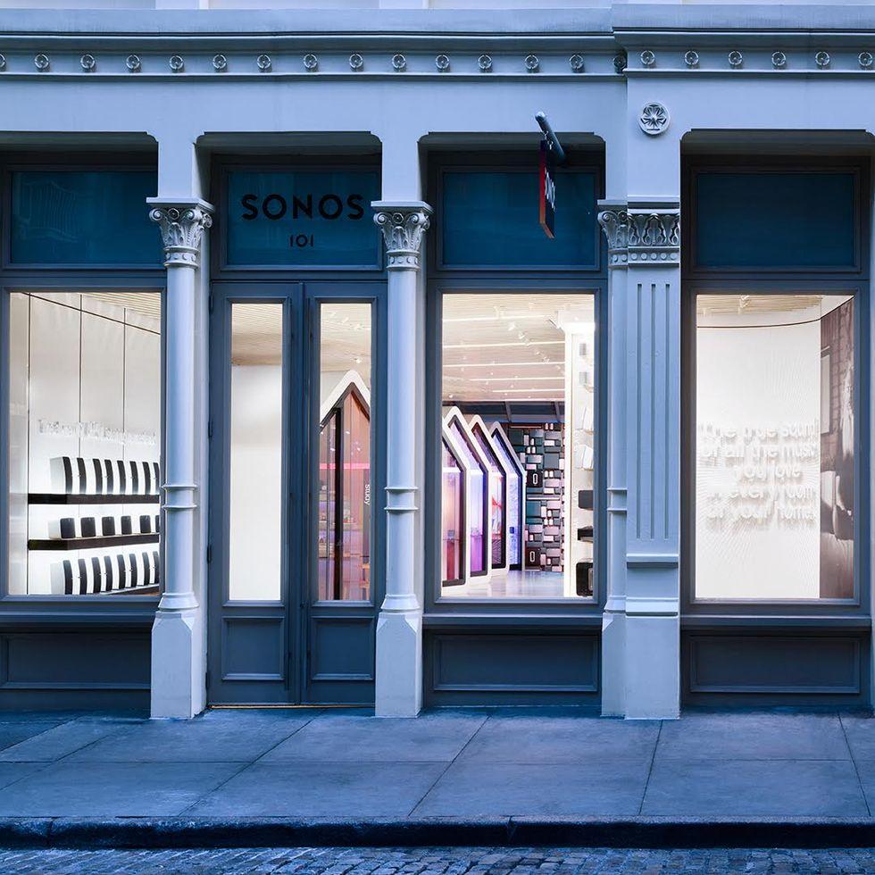 I morgon öppnar Sonos sin flaggskeppsbutik i New York