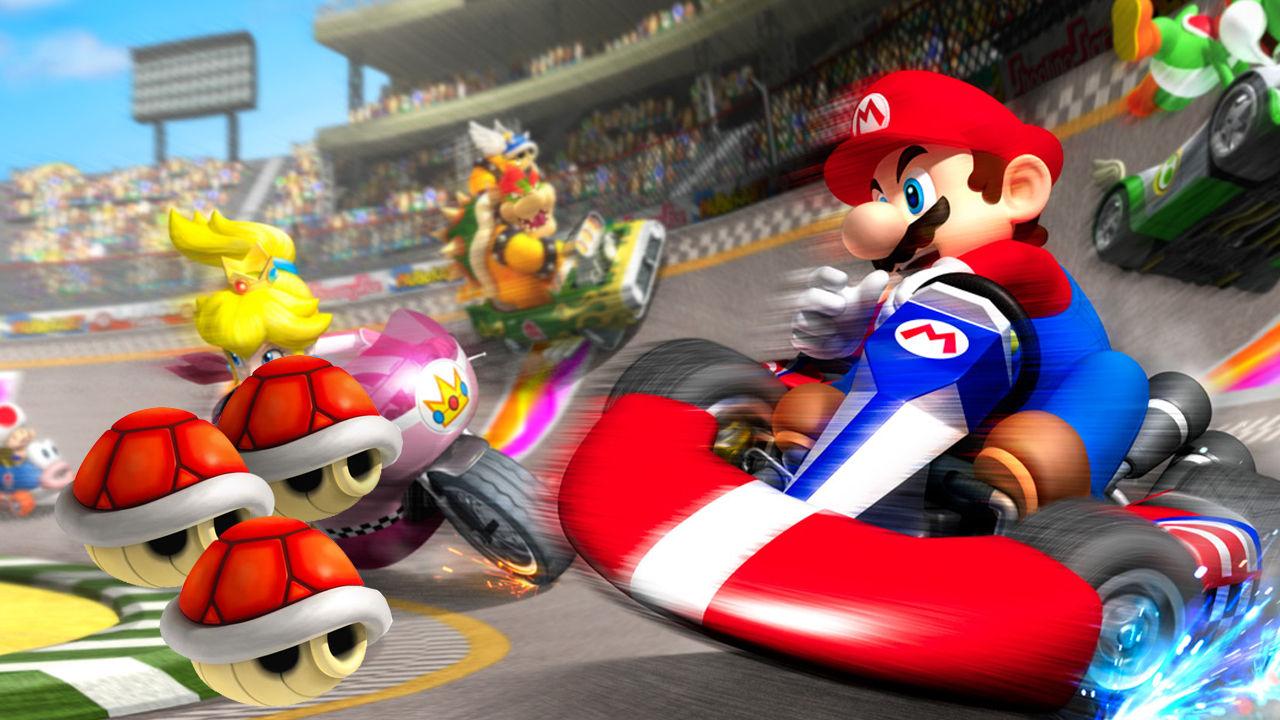 Mario Karts-spelande ledde till  bättre bilförare