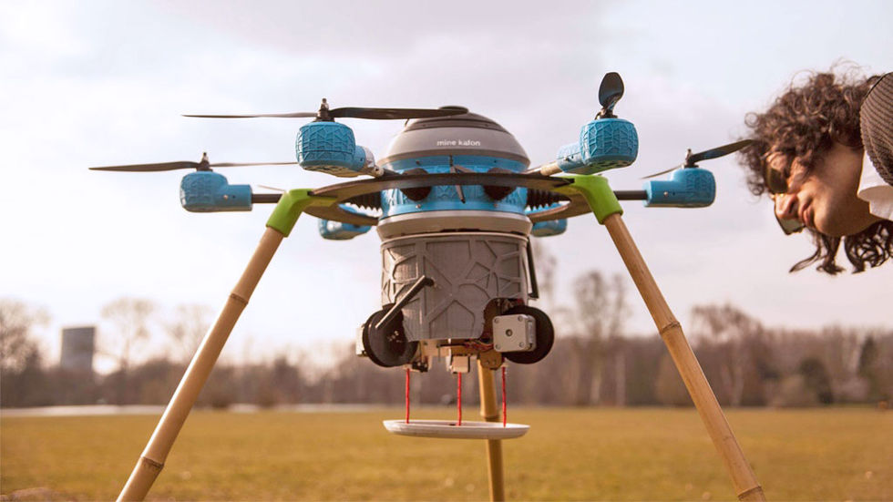 Mine Kafon Drone ska rensa minfält
