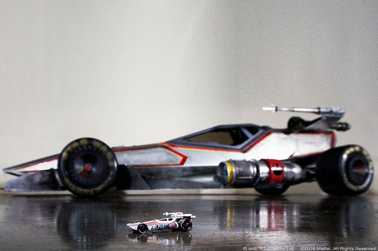 Hot Wheels har byggt en stor X-Wing-bil