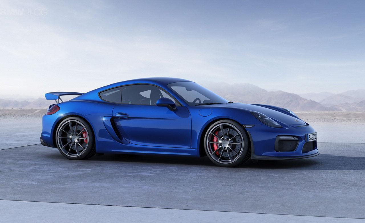 Nästa Porsche Boxster Spyder och Cayman GT4 får boxersexa
