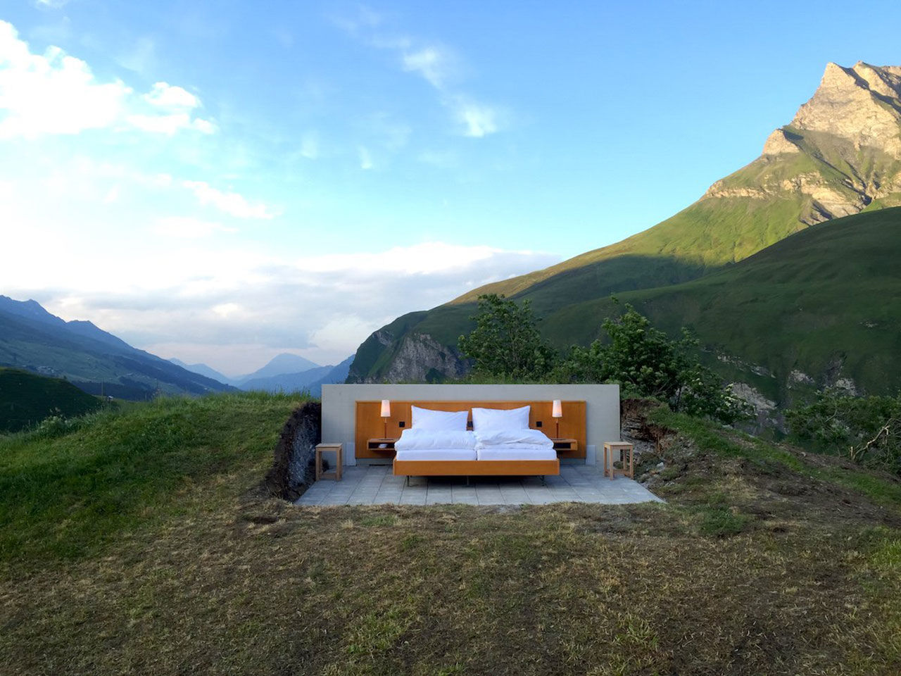 Hotellet där du sover under bar himmel