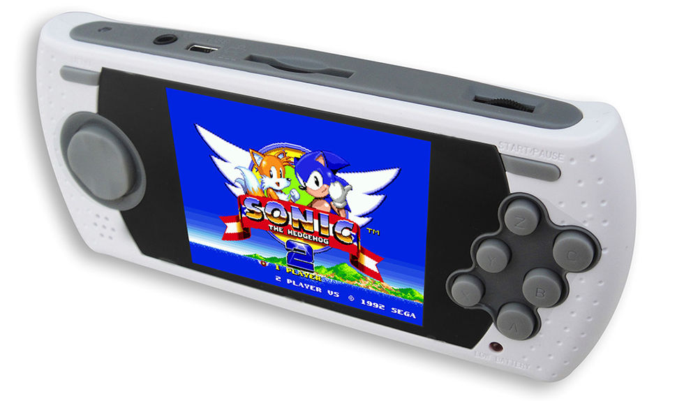 Sega visar upp miniversion av Mega Drive