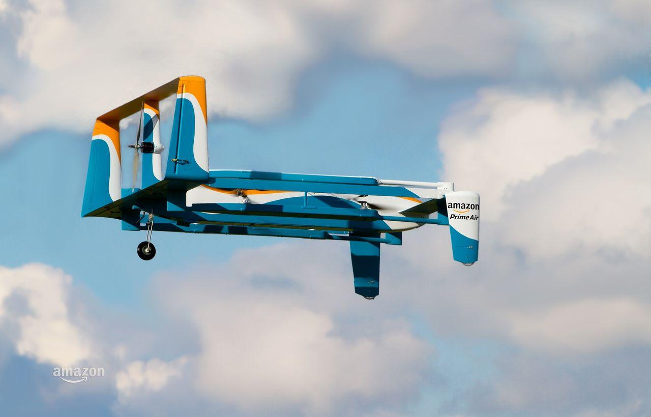 Amazon börjar testa drönarleveranser i Storbritannien