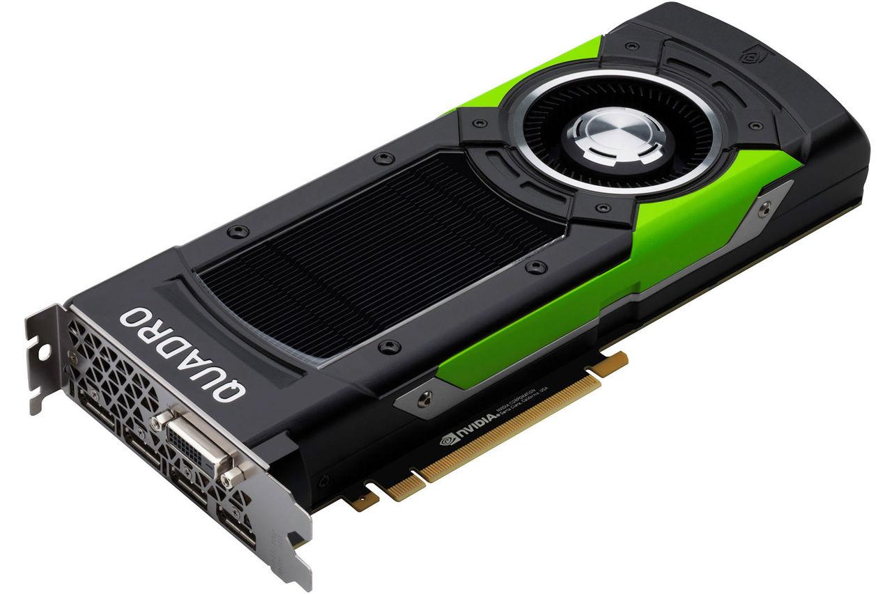 Nvidia visar upp Quadro P5000 och P6000
