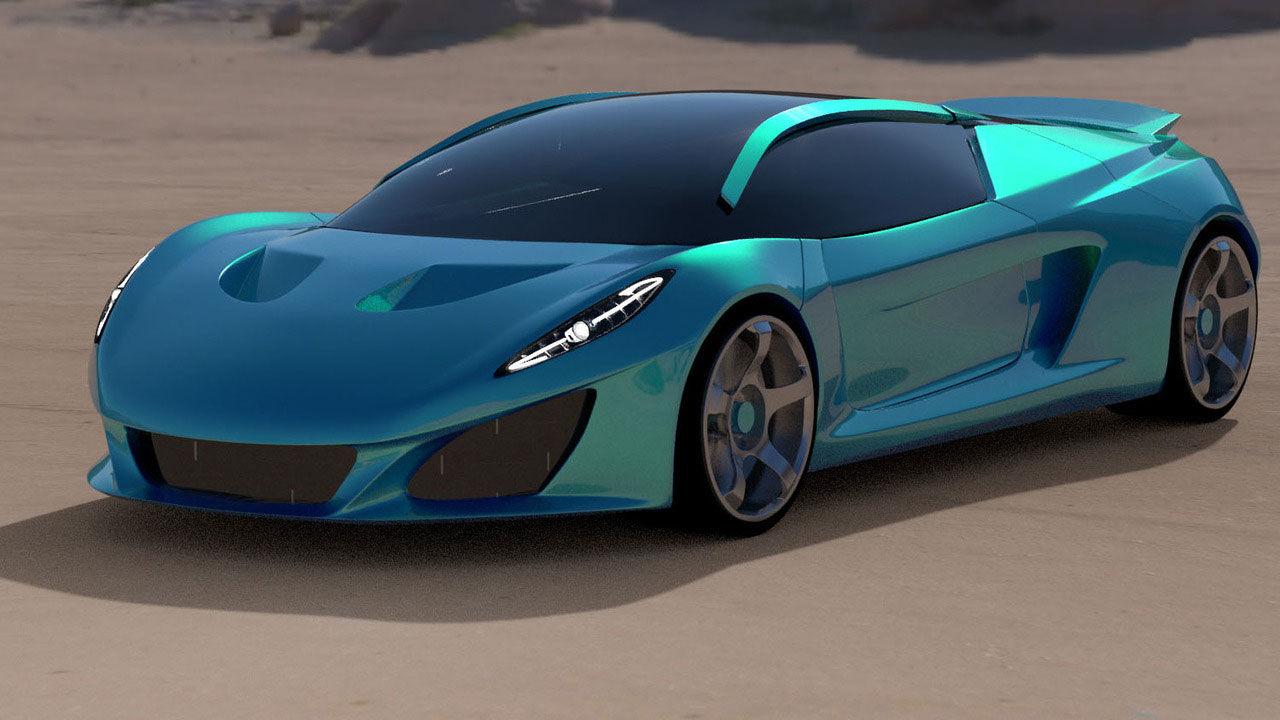 Berus - ny superbil från brittiska Keating
