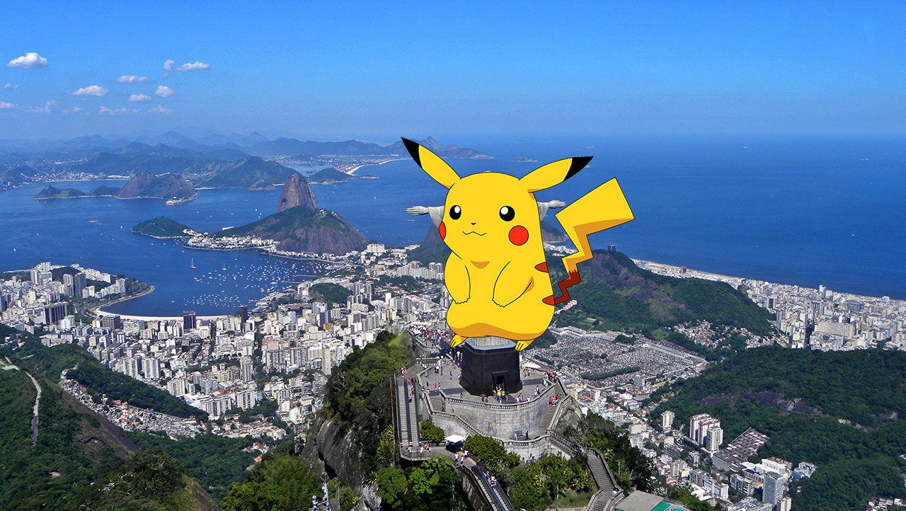OS-deltagare besvikna på att de inte kan spela Pokémon Go i Brasilien