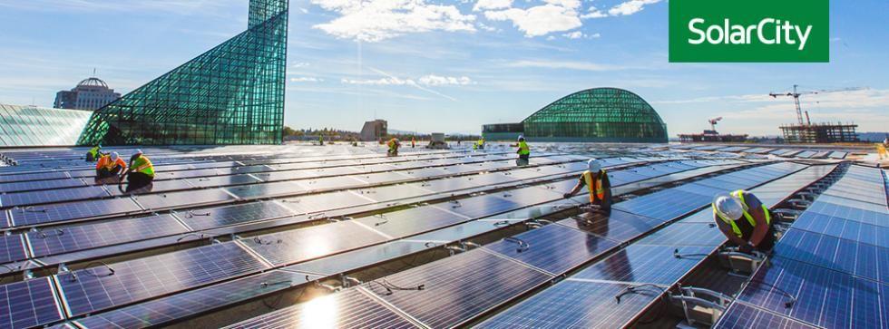 Tesla köper SolarCity