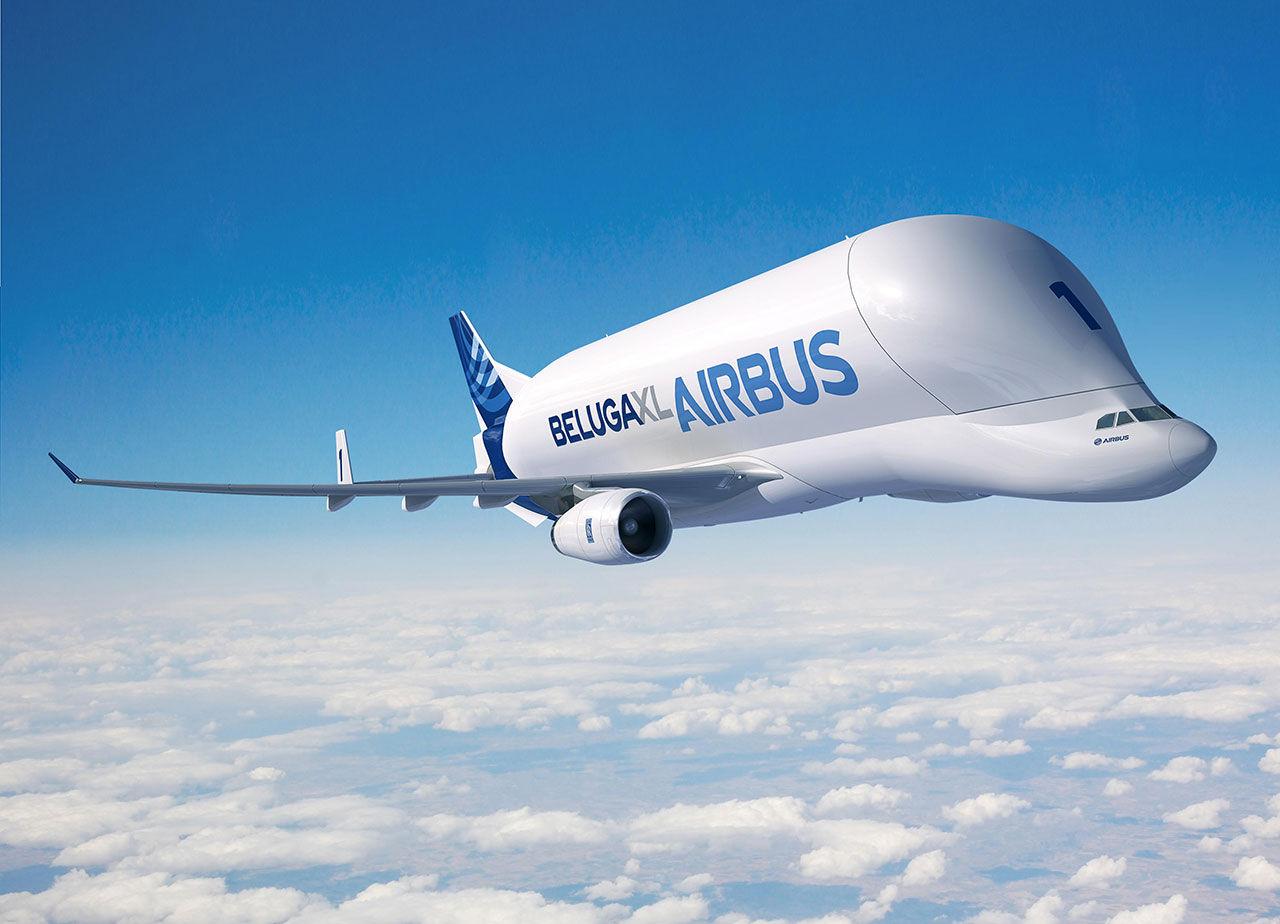 Airbus ska bygga ny version av sitt jätteflygplan Beluga