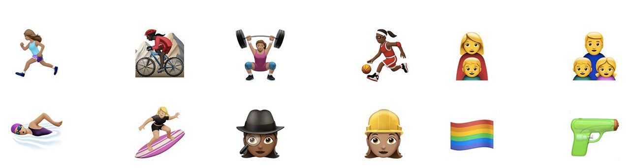 iOS 10 får fler jämställda emojis